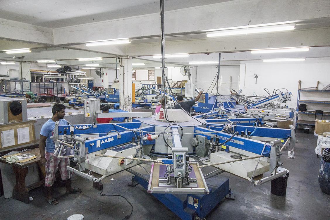 The Factory Maverick Screen Amp Digital Printers
